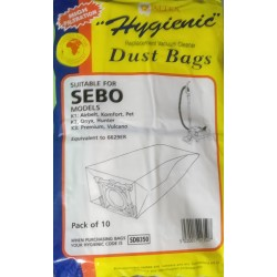 Bags To Fit Sebo Vacuum...